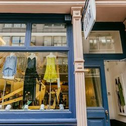"""<b>↑</b> Brighten up your closet with a trip to <b><a href=""""http://www.tibi.com/"""">Tibi</a></b> (120 Wooster Street), which is having a major moment right now thanks to its crisp, sleek silhouettes and perfect balance of casual and polished. Don't miss the"""