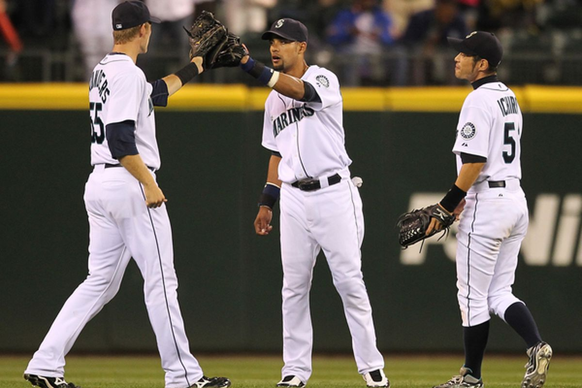 Wow, remember this was an outfield one time? I think literally, one time.