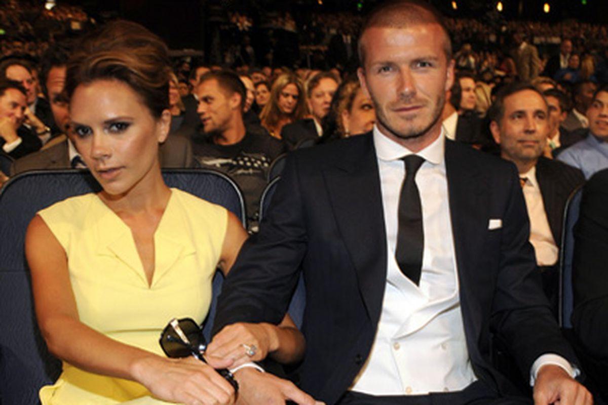 The Beckhams love the Farmies!