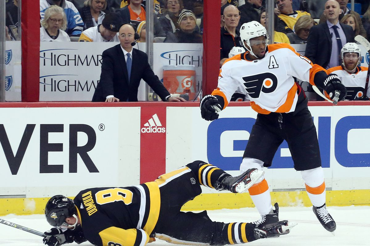 2017 18 Flyers Player Review Wayne Simmonds He S The Ultimate Warrior But At What Cost Broad Street Hockey