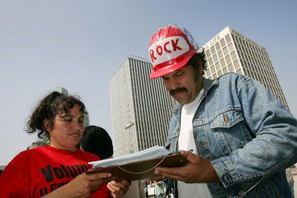 Voter registration Latinos