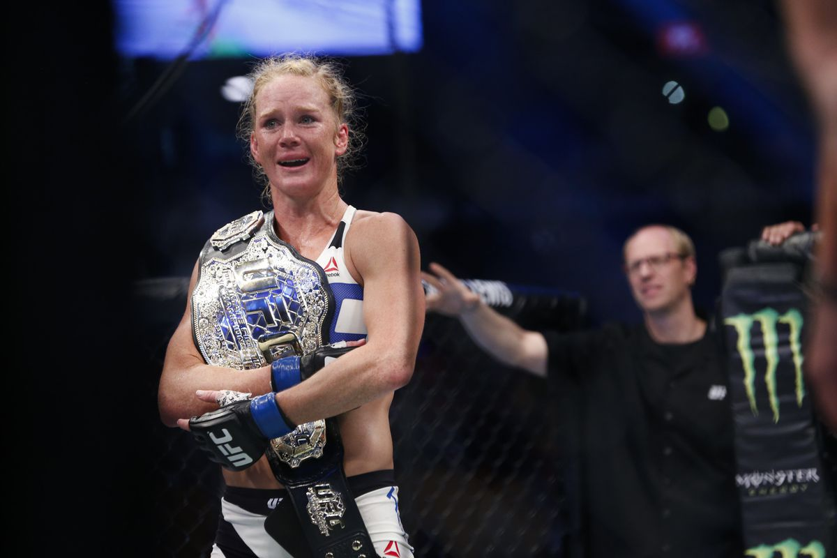 Holly Holm feels 'similarities' to UFC 219 and upset of Ronda Rousey - MMA  Fighting