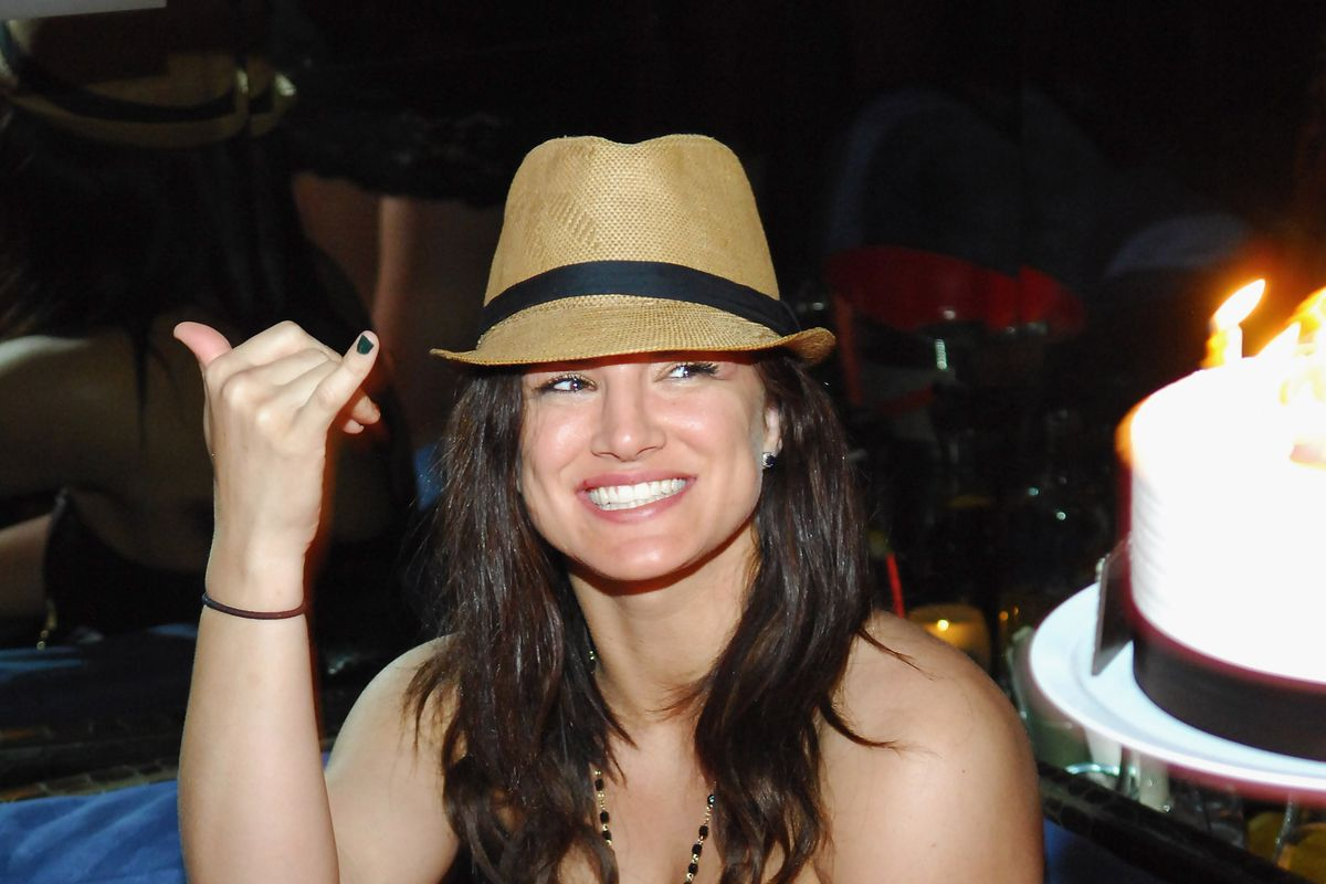 Actress/Model/MMA Fighter Gina Carano Celebrates Her 30th Birthday At Tabu Ultra Lounge At MGM Grand Hotel & Casino In Las Vegas