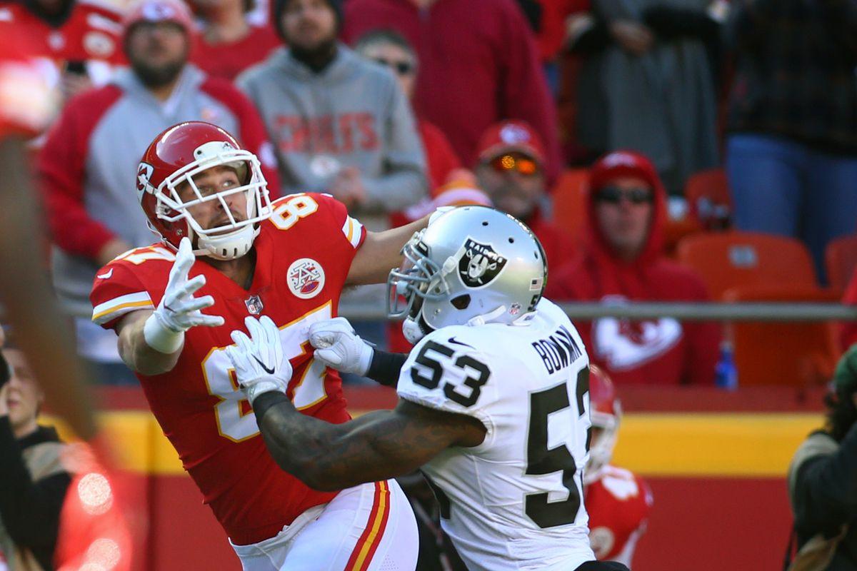 NFL: Oakland Raiders at Kansas City Chiefs