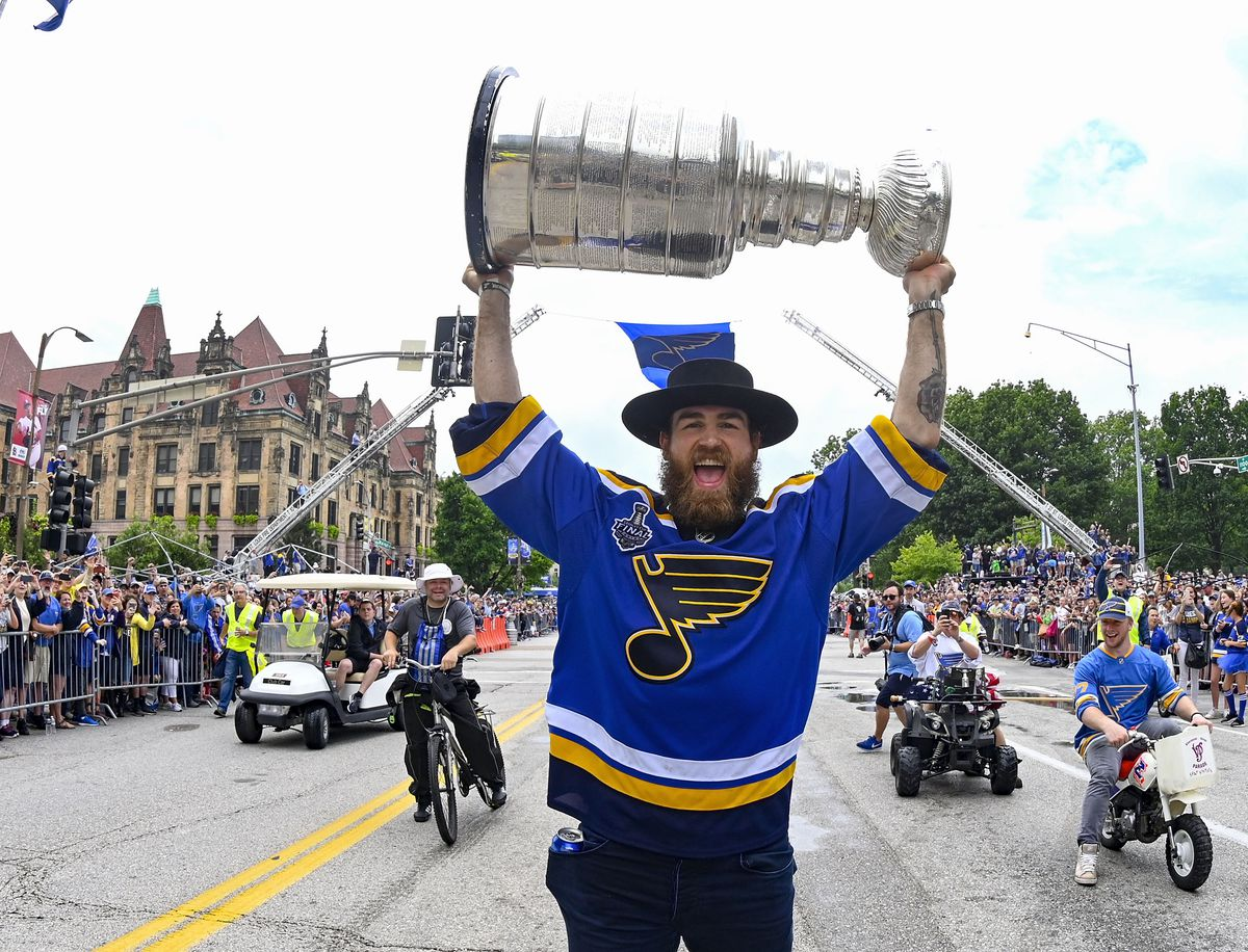 St Louis Blues Stanley Cup Champions Parade & Rally