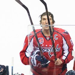 Ovechkin Selects New Stick