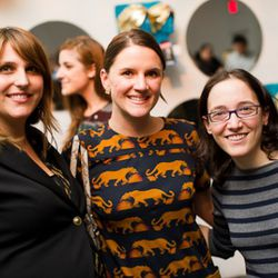 The Curbed Network's Michelle Curb, Cole Boyle, and Sarah Polsky