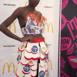 This is how you do crop tops at McDonald's.