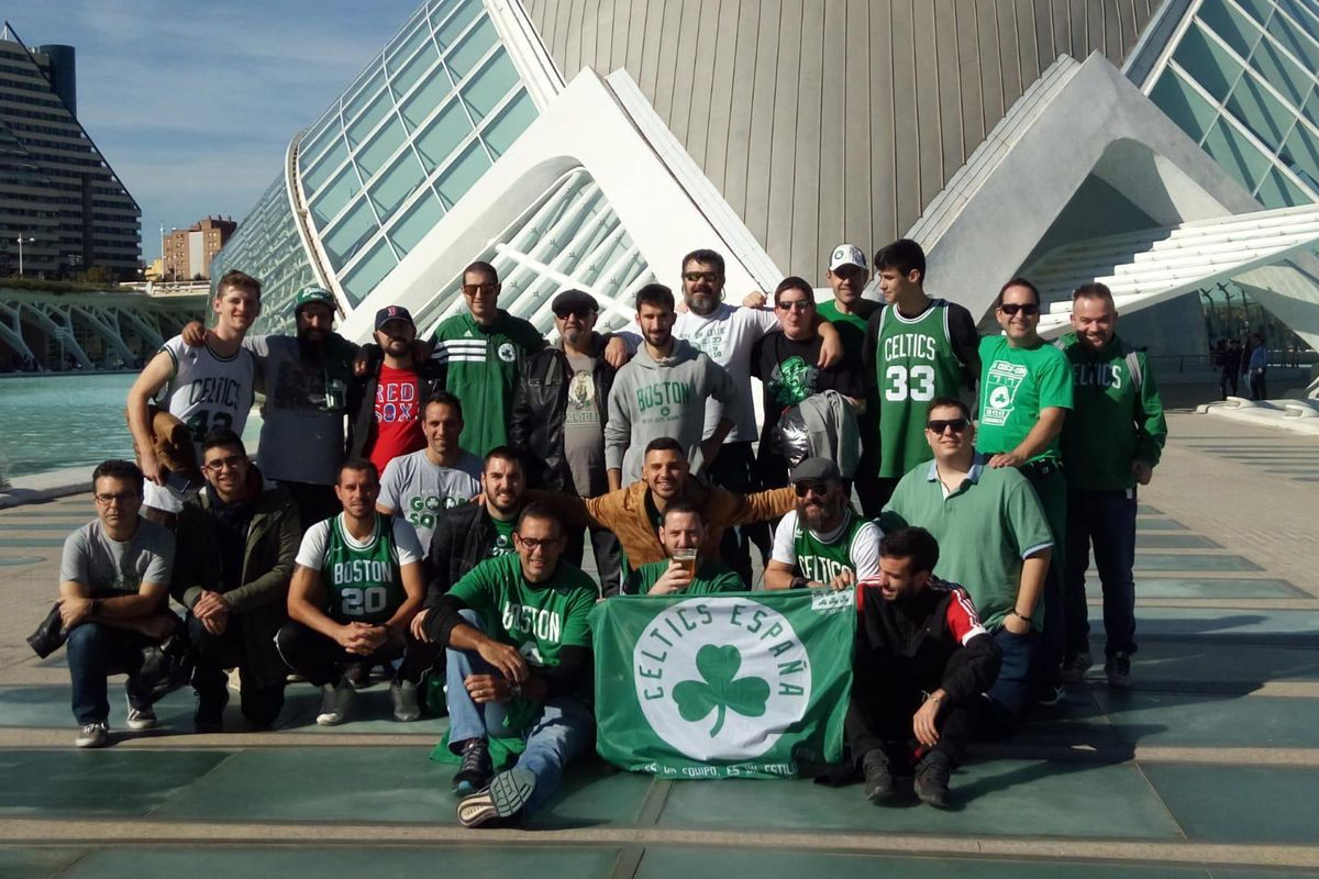 Image result for boston celtics fan club gathering