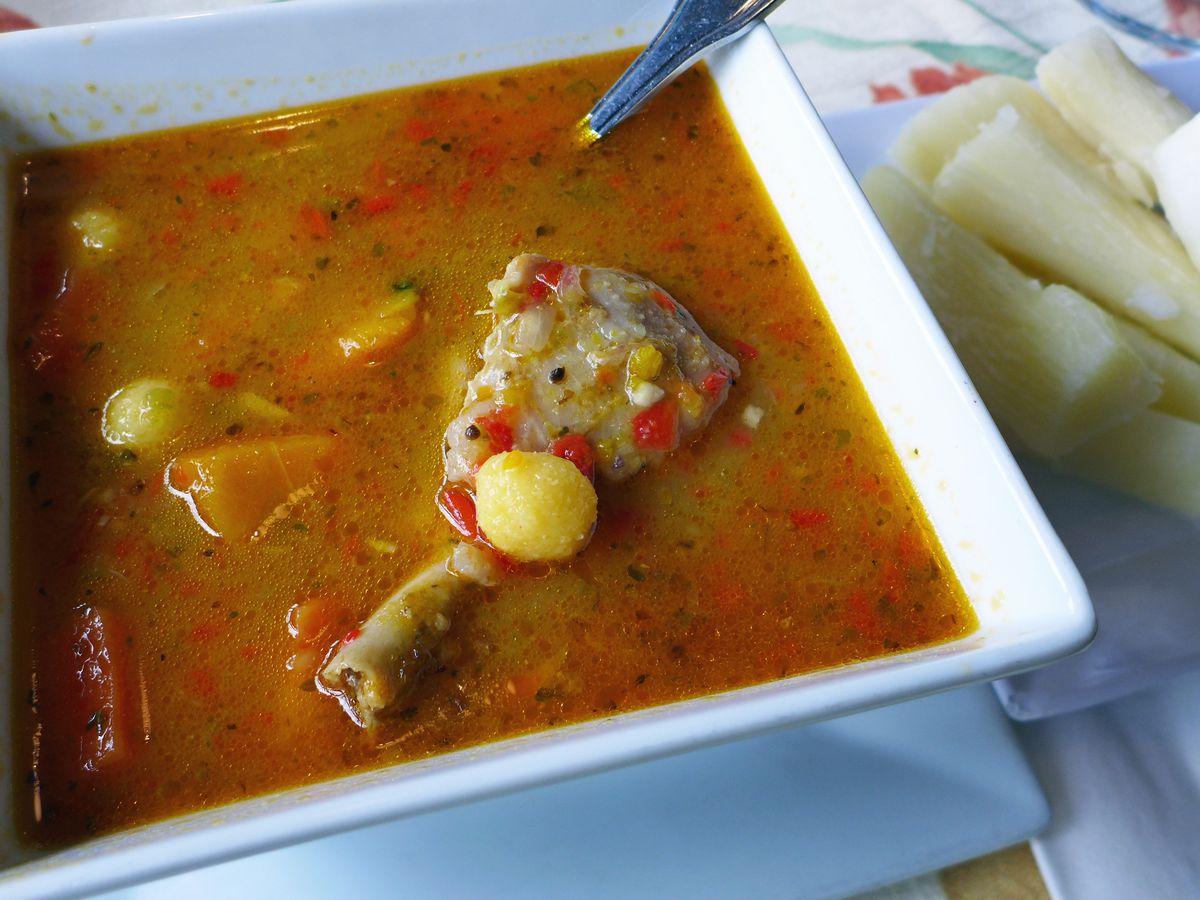 Vori vori soup