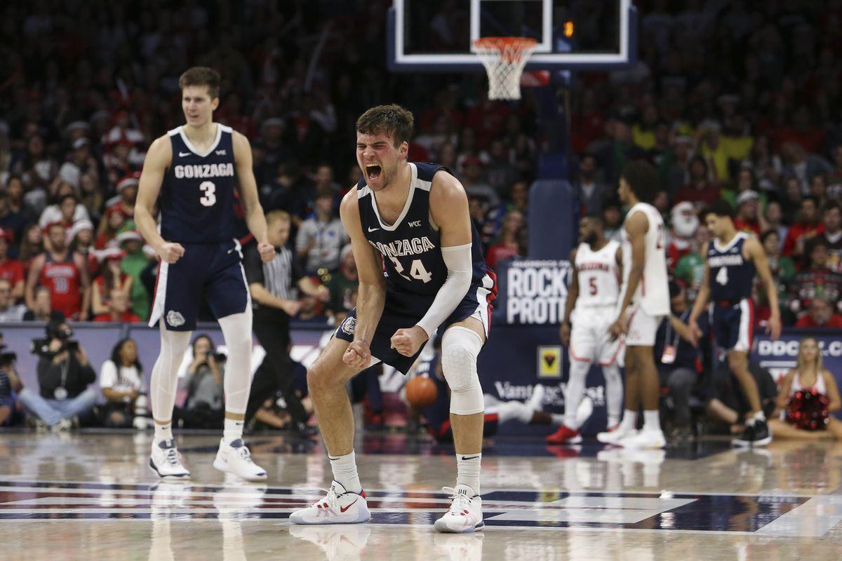 NCAA Basketball: Gonzaga at Arizona