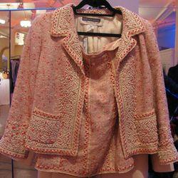 <b>Oscar de la Renta</b> skirt suit, $660