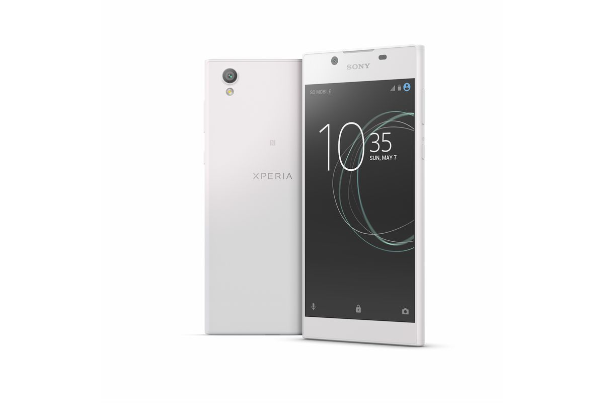 Sony\'s new Xperia L1 features a 5.5-inch HD display and Android ...
