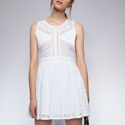 """White Out Lace Dress, <a href=""""http://www.pixiemarket.com/dresses/white-out-lace-dress.html"""">$62</a> at Pixie Market"""