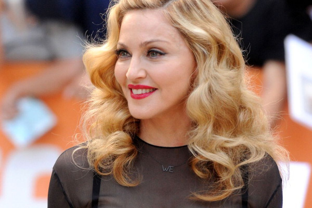 TORONTO, ON - SEPTEMBER 12: Director Madonna arrives at 'W.E.' Premiere at Roy Thomson Hall during the 2011 Toronto International Film Festival on September 12, 2011 in Toronto, Canada. (Photo by Jason Merritt/Getty Images)