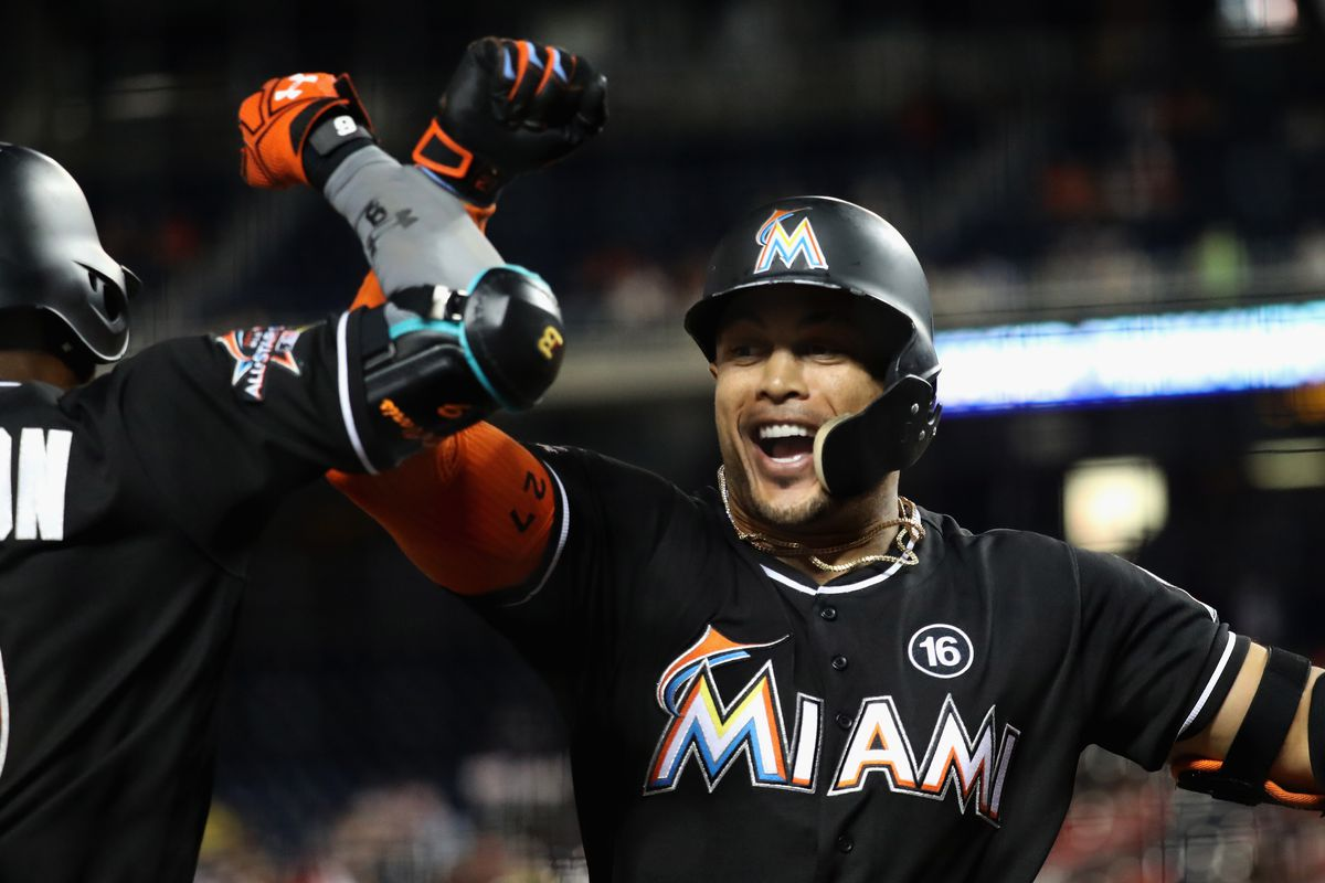 Marcell Ozuna believes Giancarlo Stanton can hit 70 home runs