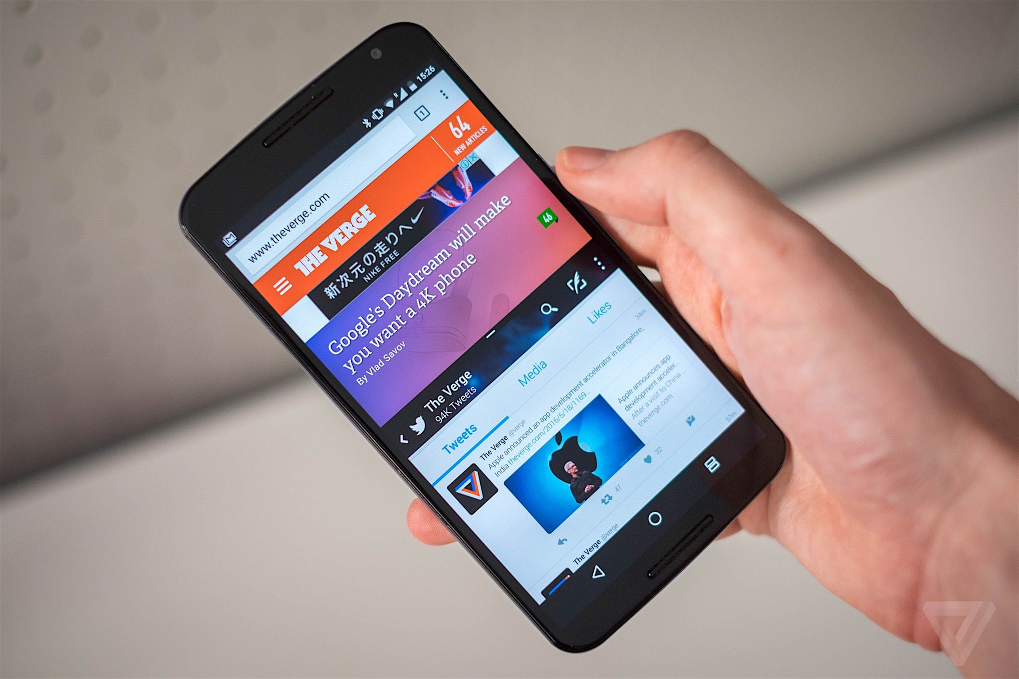 Android N on Nexus 6
