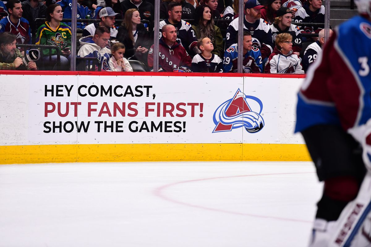 NHL: New Jersey Devils at Colorado Avalanche