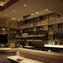 The renovated kitchen at China Poblano.