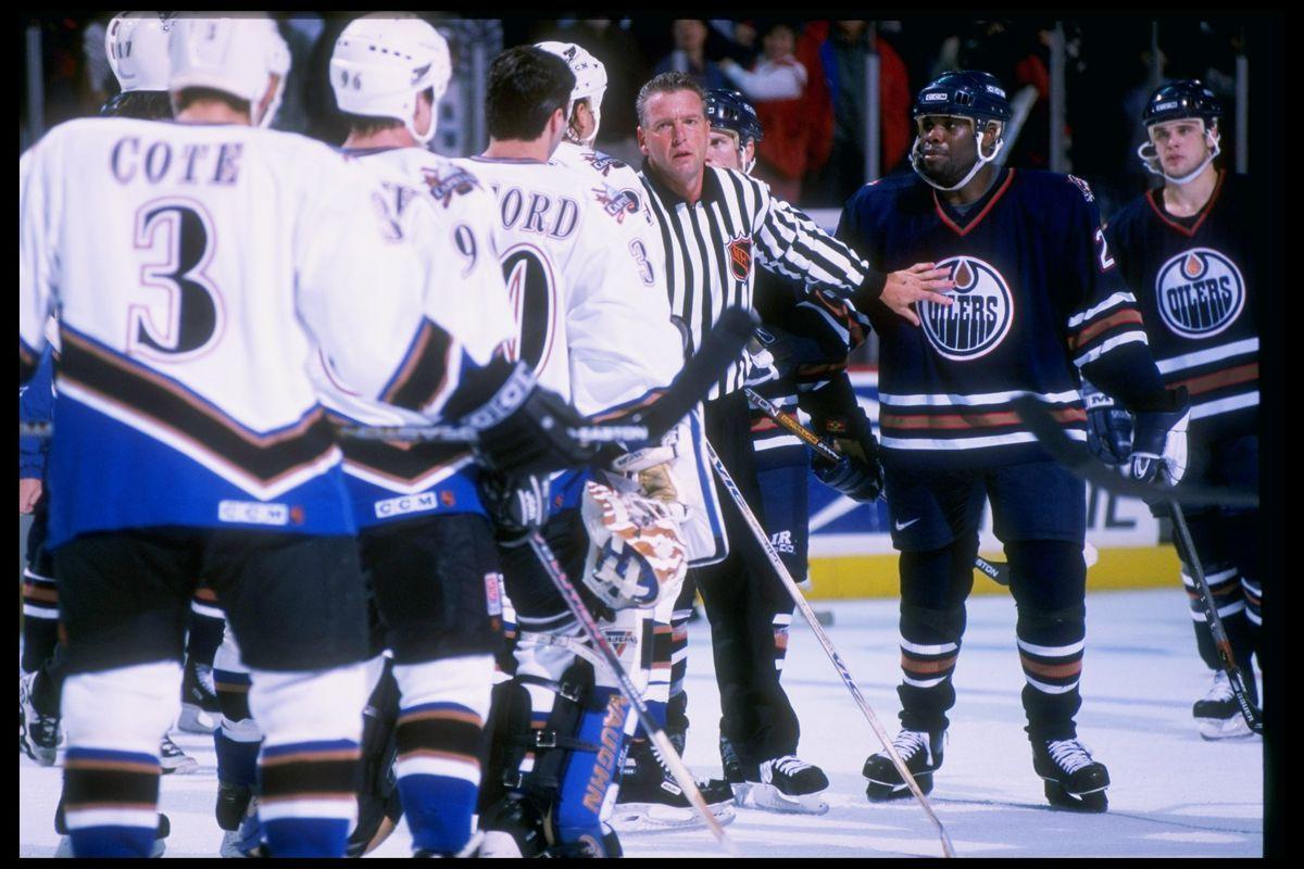 Oilers V Capitals