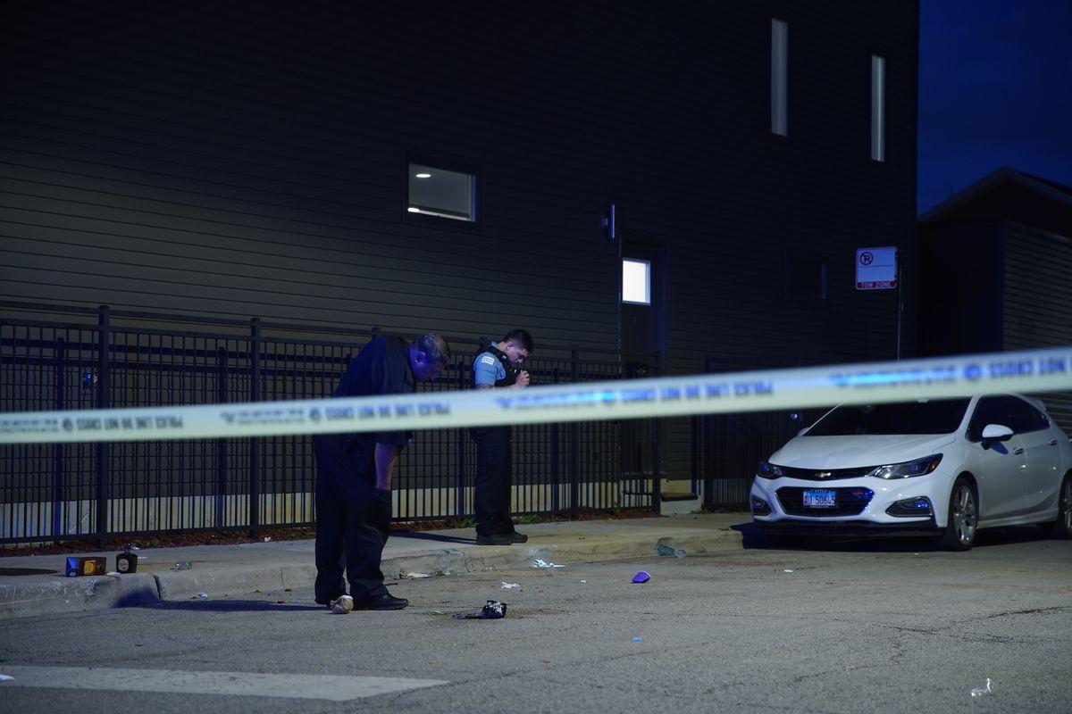 Five people were shot on the near west side.