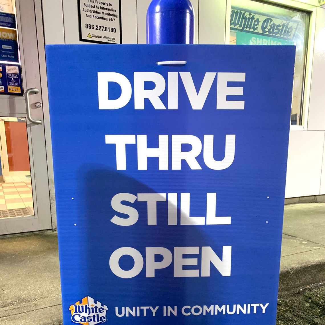 An Ozone Park White Castle says it takes a village to keep feeding people during a pandemic.