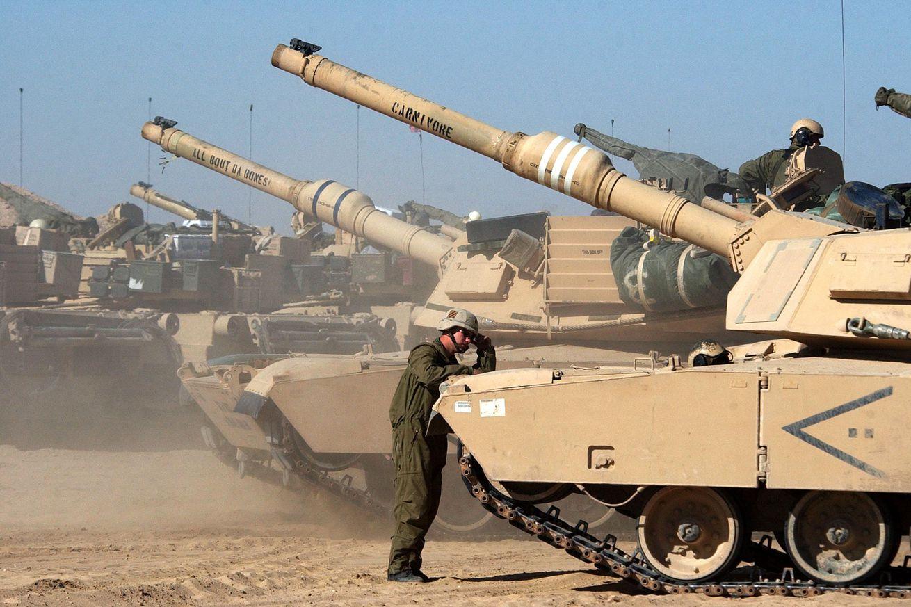 U.S. Soldiers Train In Kuwait