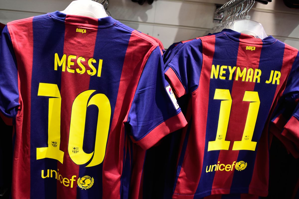 the latest 92276 37d0f Barcelona squad, kit numbers released for UEFA Champions ...