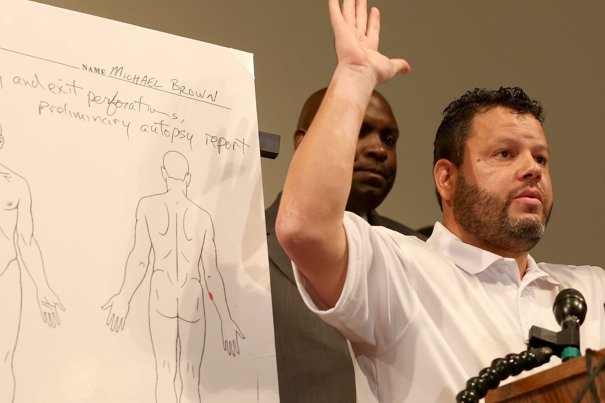 Darren Wilson will have to justify shooting a teenager who had his arms raised.