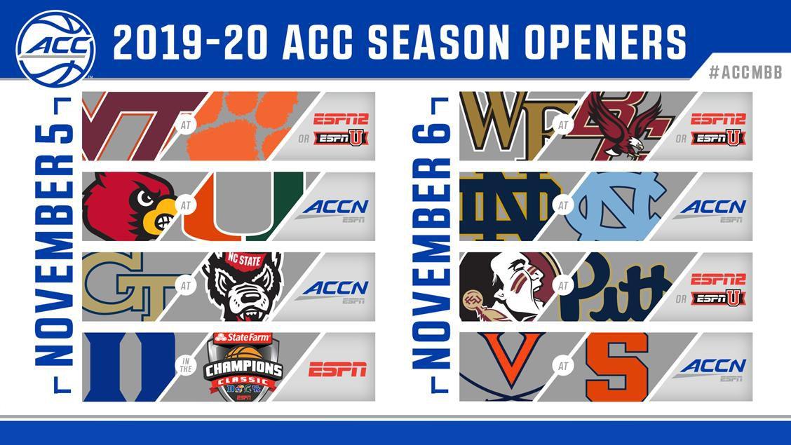NC State opens 2019-20 season against Georgia Tech on ACC Network