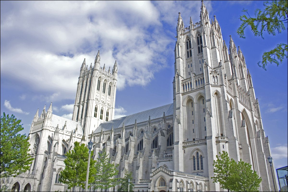 A view of the National Cathedral in Washington, D.C.