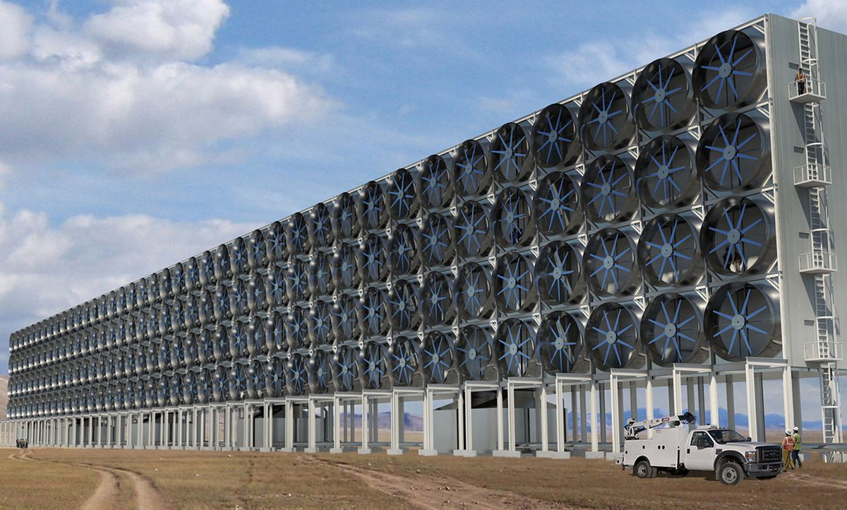 direct air capture (DAC) of carbon dioxide