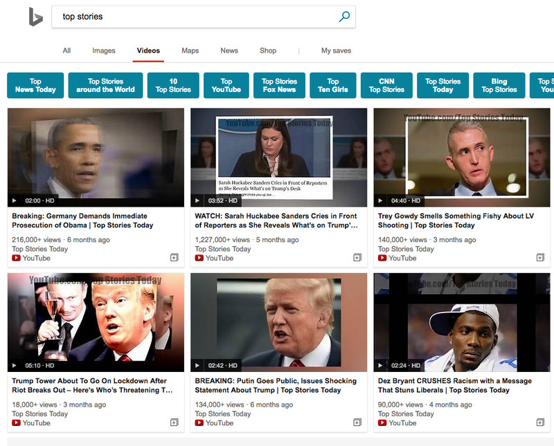 Screen_Shot_2018_01_31_at_1.50.42_PM A single YouTube channel is flooding Bing's video search with fake news