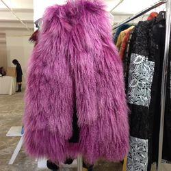 Tibetan lamb vest, $600