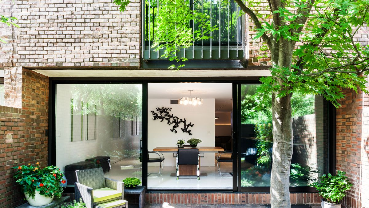 An I M Pei Townhouse Gets The Restoration Treatment In