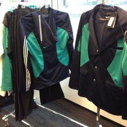 Men's Y-3 track sportscoats