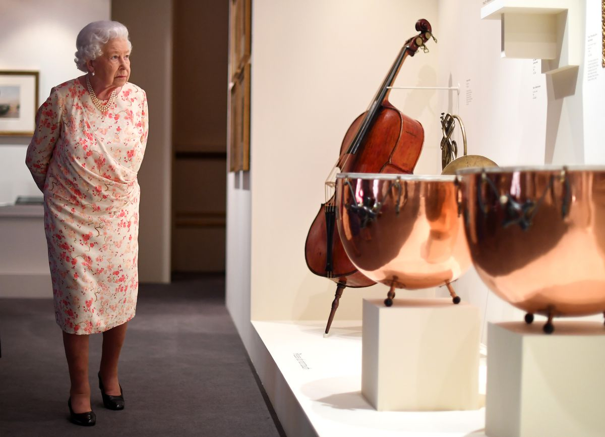 Preview Of Queen Victoria's Palace Exhibition Marking The 200th Anniversary Of Her Birth