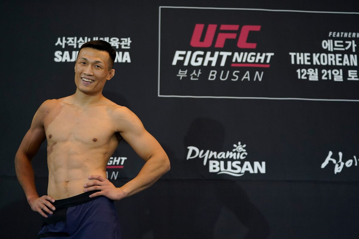 UFC Fight Night Edgar v The Korean Zombie: Open Workouts