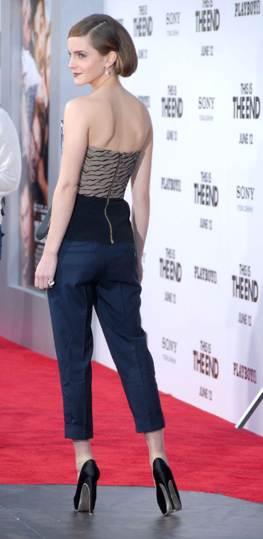 Emma Watson Red Carpet Pants