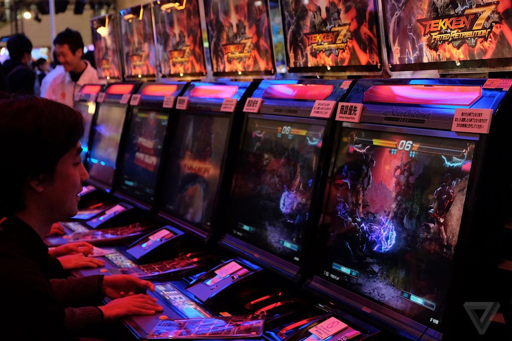 Japanese Arcades Aren T Dead And Here S Why The Verge