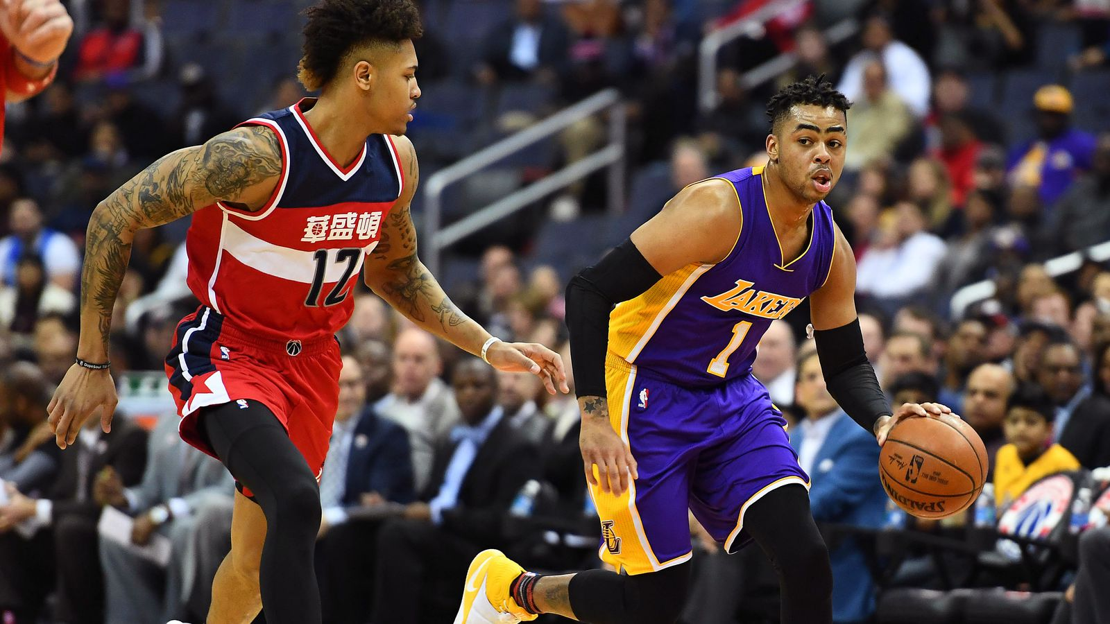 Lakers vs. Wizards Game Preview: The back nine - Silver ...