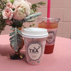The pretty pink cups are totally Instagram-worthy.