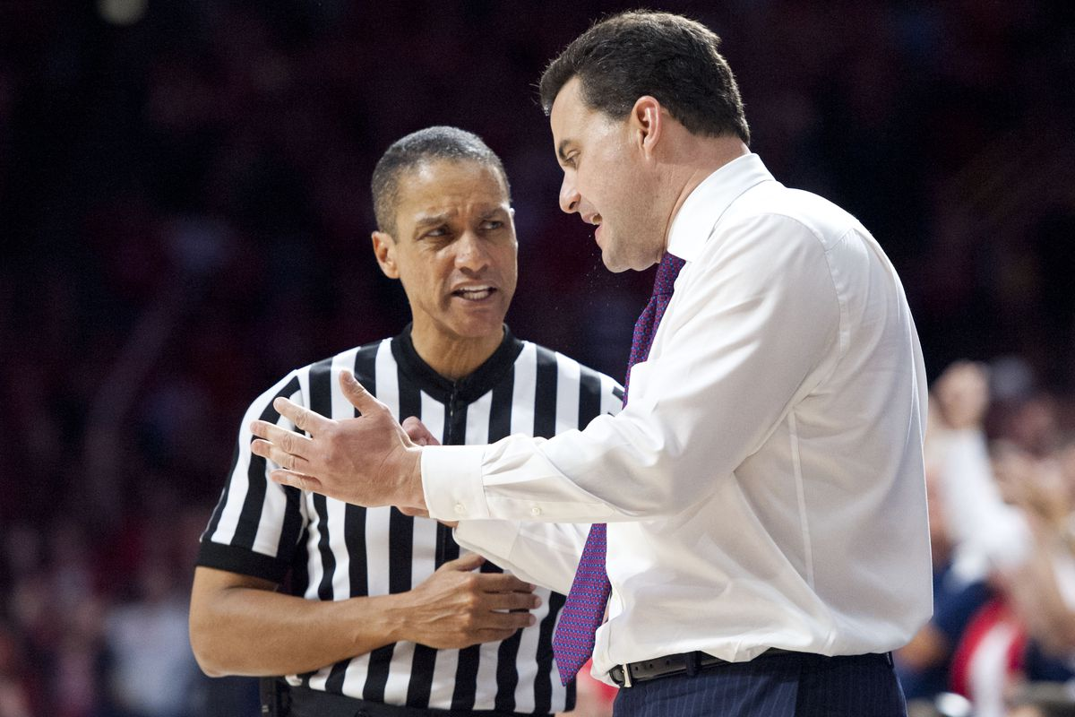 Sean MIller last night explaining how the most important thing to consider in calling a foul is the color of the guy's shirts.