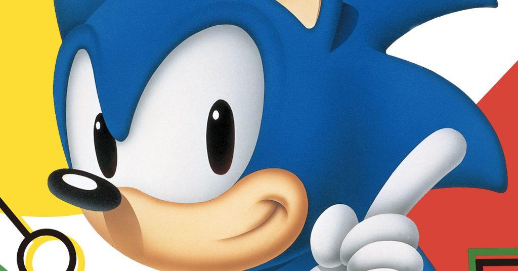 The Origins Of Sonic The Hedgehog Polygon