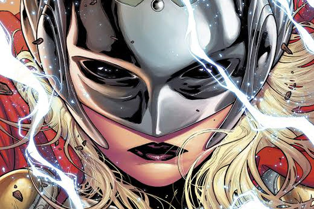 Marvels New Thor Will Be A Woman The Verge Iron Man Circuit Superhros Marvel Comics Logostore