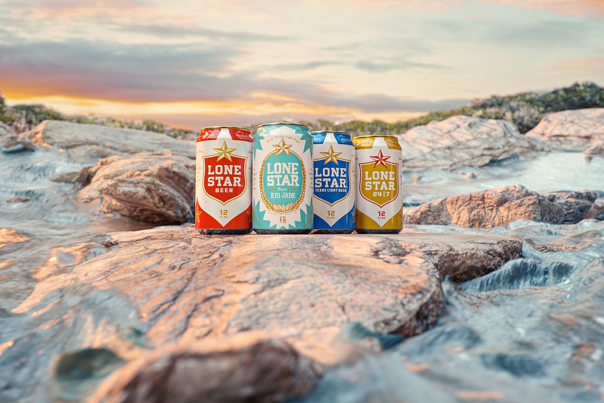 Lone Star's beers, including the new Rio Jade