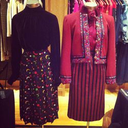 Original pieces from '60s YSL, when the line was called Saint Laurent Rive Gauche