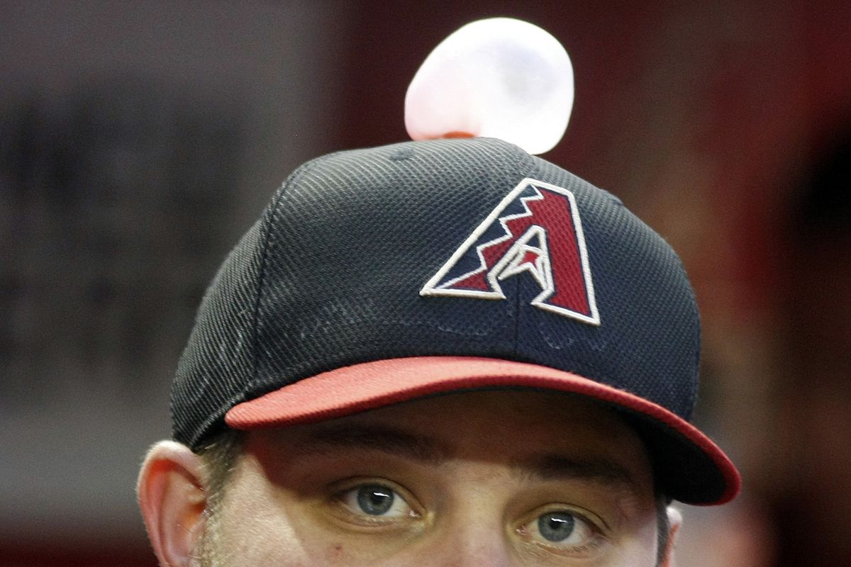 Yep. J.J. Putz is ready for the season, judging by this pic from last night!