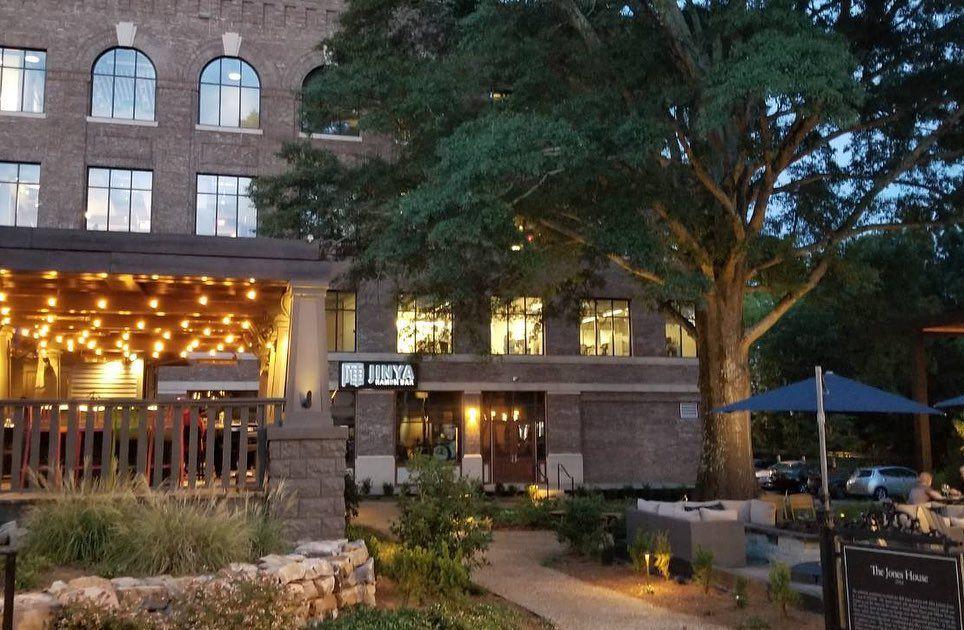 A photo of the outside of Jinya Ramen Bar at Alpharetta City Center