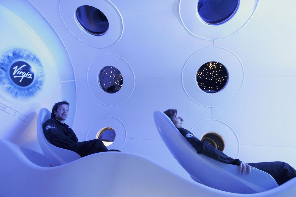 Virgin Galactic cabin
